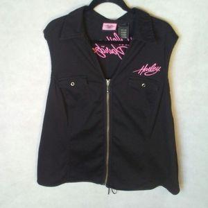 Plus size Harley-Davidson vest
